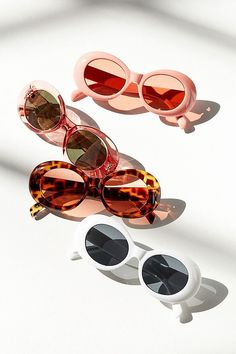 Slide View: 1: Venice Oval Sunglasses