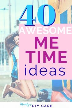 Me time ideas that are super fun, relaxing, and some are really quick. If you need a day to yourself to be alone, you'll LOVE these creative options. Take Care Of Yourself, Live For Yourself, Funny Self Love Quotes, Self Healing Quotes, Spiritual Health, Mental Health, Love Challenge, Understanding Anxiety, Relaxing Day