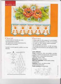 Bico de croche lindinho | Bicos de Croche