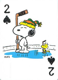 Snoopy hockey doghouse Peanuts playing card single swap two of hearts - 1 card Snoopy Images, Snoopy Pictures, Peanuts Cartoon, Peanuts Snoopy, Peanuts Comics, Snoopy Love, Snoopy And Woodstock, Peanut Pictures, Happy Birthday Meme