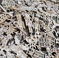 Our chipboards from this year Xmas collections just wait to get into your hands!  Wycinanki z naszych tegorocznych świątecznych kolekcji tylko czekają żeby trafić w wasze ręce!
