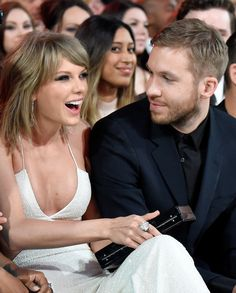 Taylor Swift and Calvin Harris  so cute together