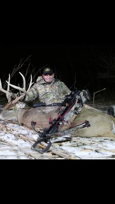 Kevin tagged a good un in Illinois yesterday evening! #backwoodslife #realtreelife #hunting #bowhunting #deerhunting #illinois