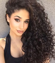 Curly Long Wigs For African American Women The Same As The Hairstyle In The Picture - Wigs For Black Women - Lace Front Wigs, Human Hair Wigs, African American Wigs, Short Wigs, Bob Wigs Haircuts For Curly Hair, Long Curly Hair, Wavy Hair, Easy Hairstyles, Deep Curly, Curly Perm, Hairstyles 2018, Famous Hairstyles, Amazing Hairstyles