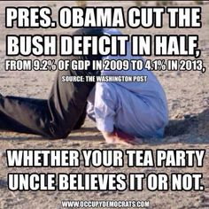 Let's look at how Obama cut the deficit: The Bush tax cuts for millionaires were extended. Military and spy budgets have never been higher. Subsidies and exemptions for corporations have never been higher. The only spending that has been cut is education, public broadcasting, alternative energy subsidies, food stamps, and veteran's benefits.