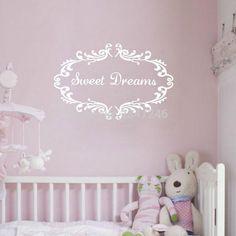 sweet dreams wall decal nursery decoration