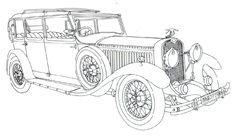 classic cars coloring pages for adults 8 image