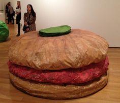 burger soft sculpture claus oldenburg - Google Search