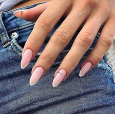 """51 Cute French Nail Art Designs Ideas To Wear Now Cool new french nail art designs for the new season 2019 will be dazzlingly beautiful, intriguing and sometimes funny. For fashionistas for each season offered \""""his\"""" fashionable French nail art with d."""