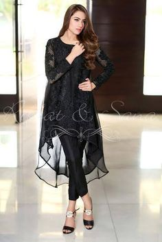 Sana Salman Semi Formal Summer Dresses are the traditional style modern dresses that women can wear on special occasions of this season. Pakistani Fashion Casual, Pakistani Dress Design, Pakistani Outfits, Indian Outfits, Indian Fashion, Stylish Dresses, Simple Dresses, Beautiful Dresses, Casual Dresses