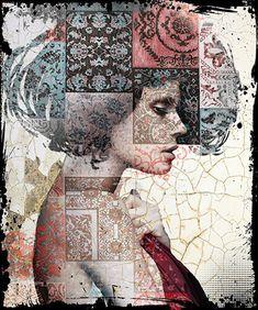 Collage Kunst, Collage Art Mixed Media, Salvador Dali, Art Pictures, Art Images, Montage Art, Picasso, Cobra Art, Linear Art