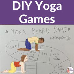 Use these games for transition times or activity time. Easy to explain and fun to do. Kids Yoga Stories games for kids Yoga Games, Fun Games, Games For Kids, Physical Activities For Kids, Board Game Template, Yoga Lessons, Time Kids, School Notes, Yoga For Kids