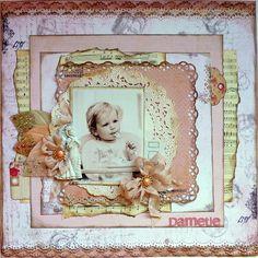 Little Lady *Scraps of Elegance Guest Designer* - Scrapbook.com