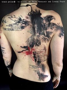 Trash Polka® Tattoo by Simone Pfaff and Volko Merschky