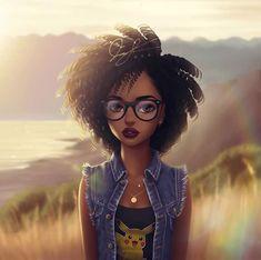 62 New ideas hair curly afro black art Black Love Art, Black Girl Art, My Black Is Beautiful, Black Girl Magic, Black Girls, Art Girl, Girl Artist, Painter Artist, Art Et Design
