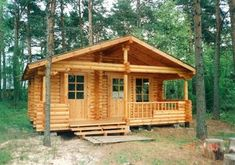 Log houses fall into two distinct ranges. Square log houses, which are built using 70mm to 114mm square logs and Round log houses where we use logs from 170mm to 230mm. ..