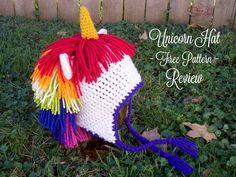 Unicorn Hat - Free Pattern - Review - Stitch11