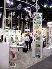2008 Licensing Show Trade Show Booth featuring the family of DPSG Brands. #altny #dpsg