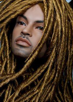 OOAK Repaint Doll by Laurie Lenz @ http://www.laurielenzdollstudio.com