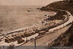 Playa de Miramar Viña del Mar, hacia 1930