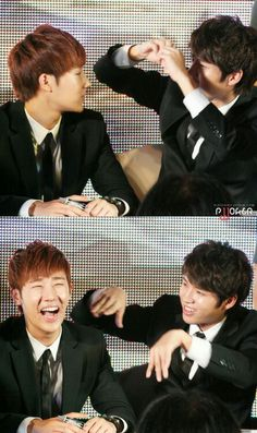 Hahaha sunggyu response to woohyun is cute