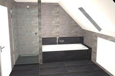 Indeling bovenverdieping met schuin dak | inloopdouche, houten ...