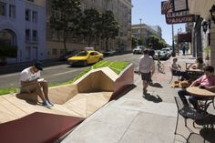 Parklet, San Francisco, California, credit: Tim Griffith