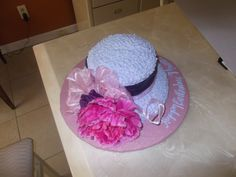 Hat Cake, Church Hats, Hat Boxes, Hat Pins, Cakes And More, Party Ideas, Amazing, Ideas Party