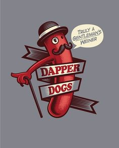 Dapper Dogs by Leon Ryan