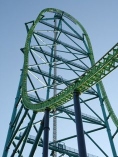 """Kingda Ka's tower is the tallest roller coaster in the world. When my inner child runs away she is often found where a high ranking roller coaster lives. (Inner Child says """"Had to ZIP, VROOM was summoning me. Bounced out early to catch a wave"""" Top 10 Roller Coasters, Six Flags Great Adventure, Greatest Adventure, Kingda Ka, Amusement Park Rides, Tower Of Terror, Cedar Point, Parking Design, Portraits"""