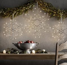 "Winter Winderland Birch Snowflake - Flower - 24"" One big Snowflake in each window of Great Room would need 6?"