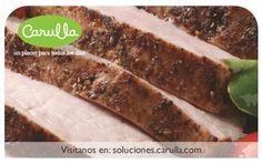 Lomo de cerdo al horno con costra de cinco especias chinas