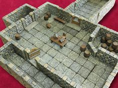 Dwarven Forge  https://www.kickstarter.com/projects/dwarvenforge/dwarven-forges-game-tiles-revolutionary-miniature