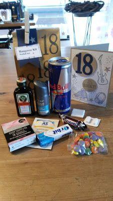 Geschenkidee Junge Uberlebenshilfe Paket Kreatives Hangover Kit