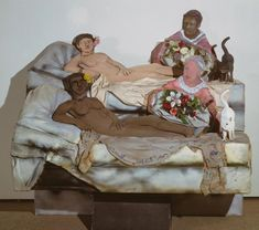 Larry Rivers, I like Olympia in Black Face, 1970 Orsay, Expo, Rivers, Olympia, Painters, Larry, Like Me, Contemporary Art, Face