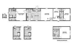 Scotbilt Mobile Home Floor Plans singelwide