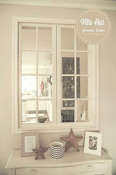 Unser altes Fenster im Wohnzimmer