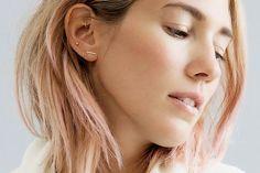 15 Cool-Girl Ear Piercings We Discovered on Pinterest via @ByrdieBeautyUK