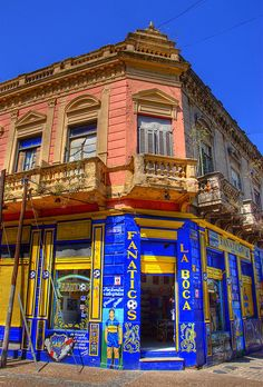 La Boca, Buenos Aires, Argentina. Signup to join the SOYK project, first worldwide geocaching game powered by Pinterest. www.somewhereonlyyouknow.com