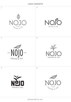 Coffee & Tea Logos by Branding Specialist Gretchen Kamp in San Diego Logo Design Trends, Modern Logo Design, Logo Design Inspiration, Logo Branding, Branding Design, Corporate Branding, Brand Identity, Tea Logo, Coffee Logo