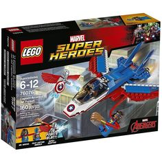 LEGO 76076 Marvel Super Heroes Captain America Jet Pursuit