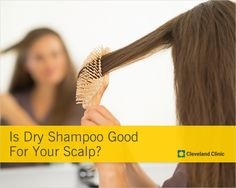 How does dry shampoo work AND how does it affect your scalp. #hair