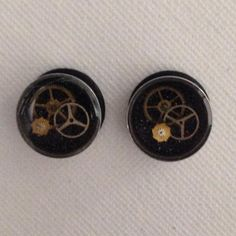 Freedom Fashion Pair of Flat Top Single Flare Plug with O-Ring 316L Surgical Steel