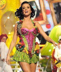 Katy Perry Fruit Dress -  #KP3D