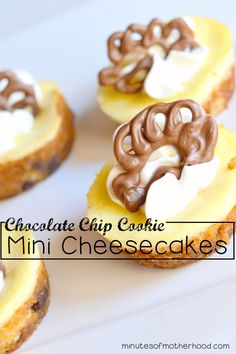 Pillsbury Chocolate Chip Cookie Mini Cheesecakes With Chocolate Turkeys Looking for something super easy to wow your friends this Thanksgiving? These mini cheesecakes with Pillsbury Chocolate Chip cookie crusts are an amazing addition to any dessert table if they make it that far. I have a huge weakness for cheesecake but I don't make it...Read More »