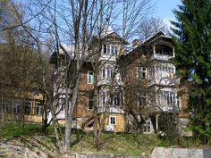 abandoned amalia house in Szczawnica, Poland