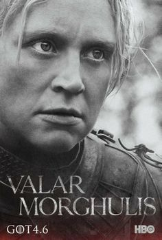 Game of Thrones season 4 character poster, Brienne of Tarth