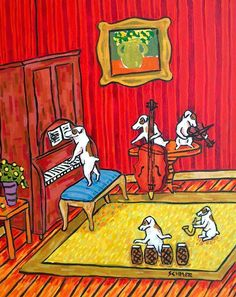 YES!!! JACK RUSSELL dogs AND MUSIC!!! PERFECT!