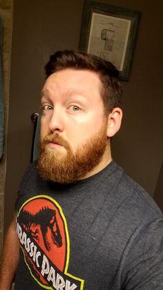 Jurassic Beard Red Beard, Beard Love, Hair And Beard Styles, Hair Styles, Beards, 6 Months, Fill, Ginger Beef, Hair Plait Styles
