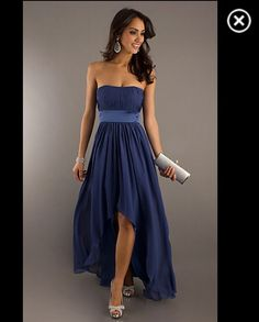 Future bridesmaid dress in periwinkle